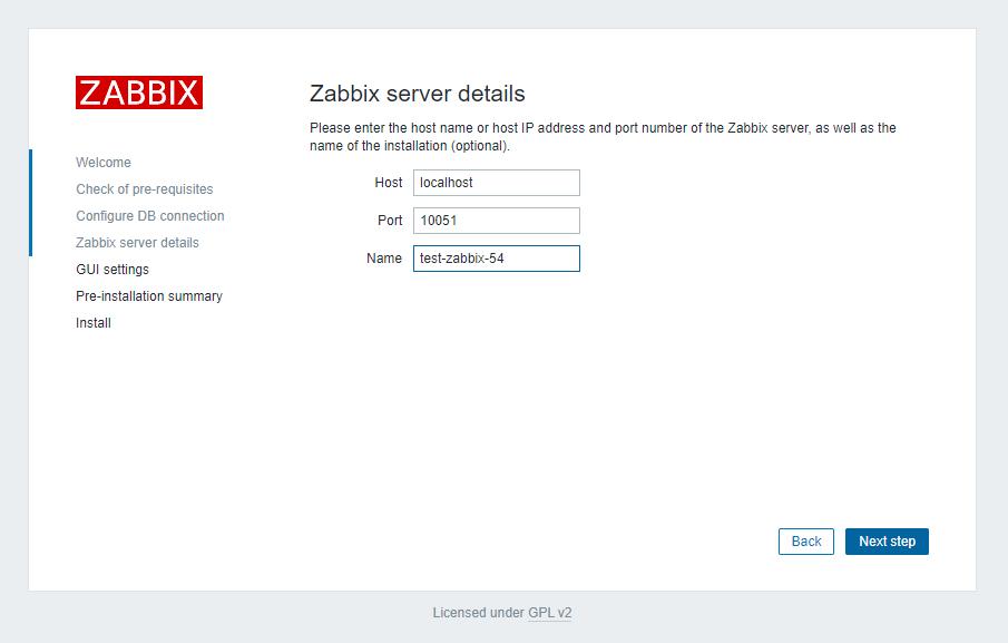 адрес zabbix сервера